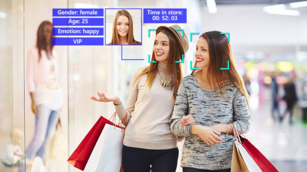 face recognition in retail store