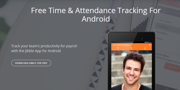 Jibble free face attendance app